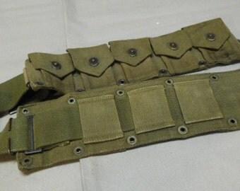 U.S. WW2 Army Cartridge Belt * flu1328