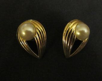 Pair of Reverse Tear Drop Earrings