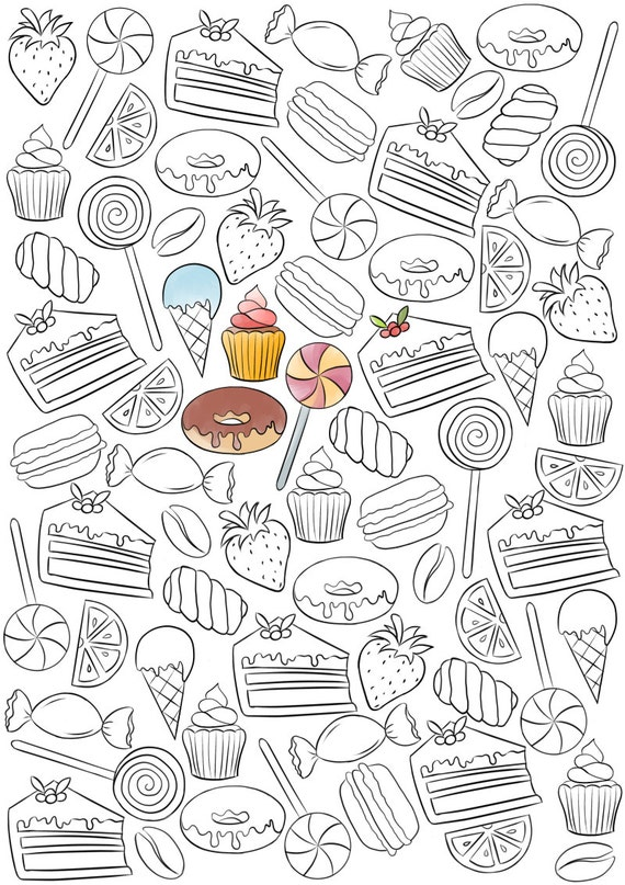 bakery coloring pages www pixshark com images galleries with a bite Bakery Coloring Pages for Adults  Coloring Pages Bakery