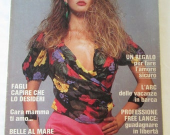 COSMOPOLITAN ITALY 1988 SHIFFER