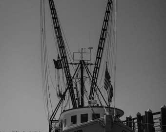 Docked Fishing Boat Photography