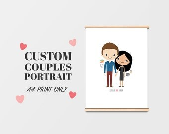 Custom Couples Portrait
