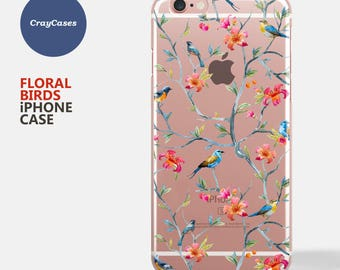 Floral iPhone 7 Case, iPhone 6s Case Floral, iPhone 6 Case Floral, iPhone 6s Plus Case Floral, iPhone 6 Plus Case (Shipped From UK)