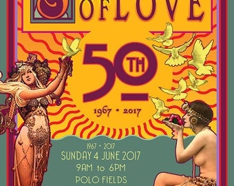 SUMMER OF LOVE Sunday 4 June 2017 San Francisco