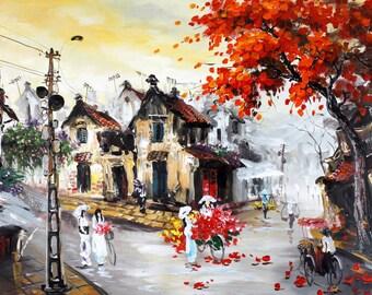 Old Town: Vietnam (Large Giclée print)