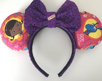 Disney Inspired Doc McStuffins Minnie/Mickey Mouse Ears