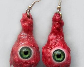 Goopy Eyeball Earrings