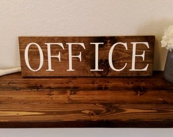 Rustic Office Decor