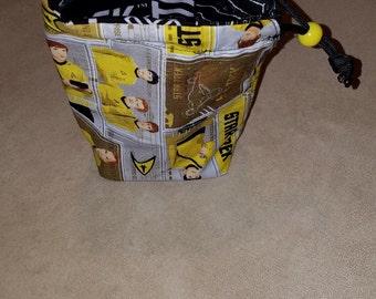 Star Trek Fabric Dice Bags Small Drawstring Bag