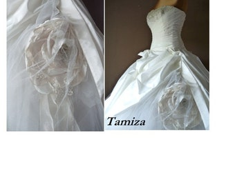 Lace,Organza and tulle  wedding dress, TAMIZA
