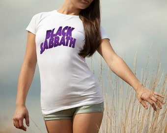 Black Sabbath T-shirt Black Sabbath Tshirt Black Sabbath Women Shirt Black Sabbath Tee Rock T-shirt Model 3