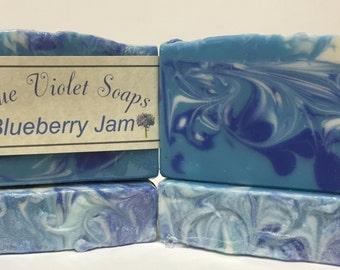 Blueberry Jam Soap | Soap | Artisan Soap | Blue Violet Soaps