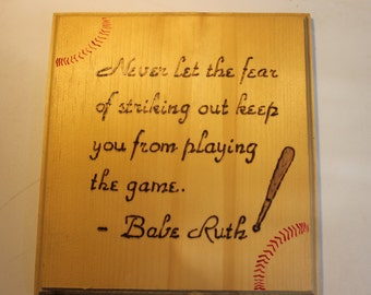 SALE: Sport saying for Baseball and Soccer