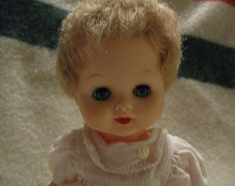Horsman doll 1960s 11 in marked 4171-K-55 Horsman Vintage Dolls Collectable Dolls free shipping in u s a