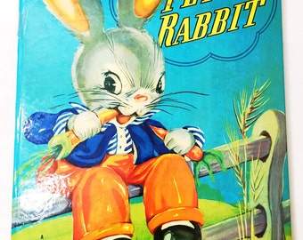 Peter Rabbit book.  FIRST EDITION.  Big Little Golden Book.  LGB.  New York: The Golden Press, 1939.  Ruth E. Newton