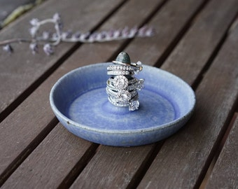 Handmade Ceramic Ring Holder