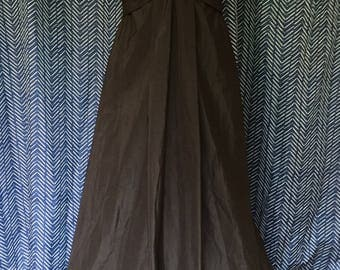 Elegant Black MaxMara Evening Gown Size 14
