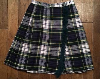 Vintage kilt skirt