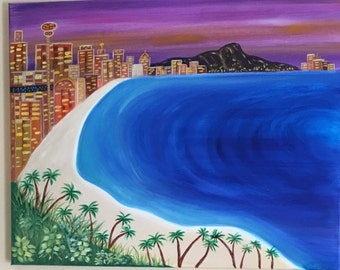 Hawaii Cityscape