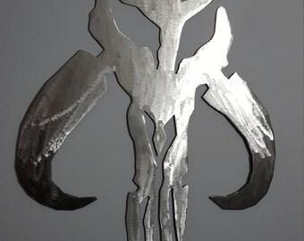 Mandalorian skull