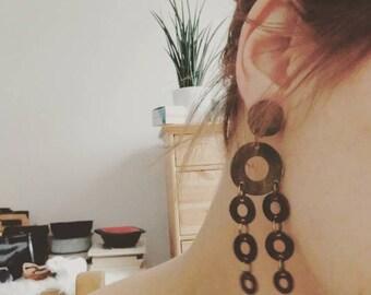 Dangle Clip on Earrings