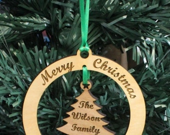 Personalized Ornament - Christmas Tree