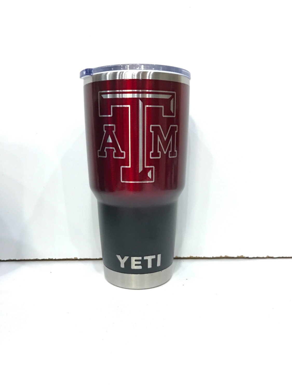 Texas A Amp M Aggies Yeti Cup Custom Powder Coated By