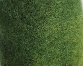Merino Wool Roving - Pine - 1 oz.