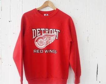 Vintage Detroit Red Wings Sweatshirt