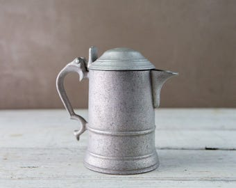 Tarnished Metal Beer Stein-Food Photography Props