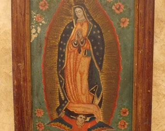 Mexican Retablo, 19th Century