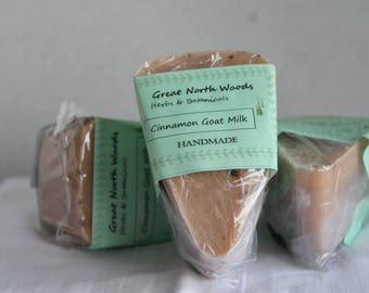 Cinnamon Goat Milk Soap