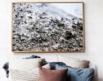 Sand Rocks Ink Outlines | JPEG Printable | Downloadable Poster Print | Digital File