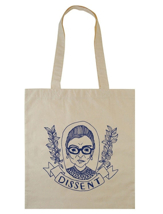 Cotton Tote | Ruth Bader Ginsburg | DISSENT