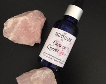 Quartz Elixir Pink • Pink Quartz Crystal Elixir