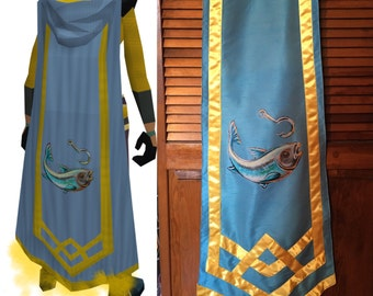 RuneScape Inspired Custom Skill Cape - Level 120 Design