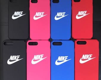Nike Logo Protective Premium Hard Case for Apple iPhone X 7/7 Plus 8/8 Plus NEW