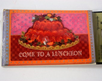 Vintage Luncheon Invitations, Retro Invitations, Retro Lunch Invitations, Luncheon, Lunch Invites, Vintage Lunch