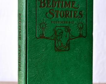 Vintage Uncle Arthur's Bedtime Stories 9-12, Vintage Children's Books, Colorful Decor Books, Shelfie Books, Classic Books, Decorative Books