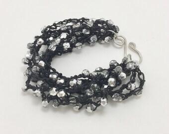 Starlight Brilliance  Boho Beach Bracelet