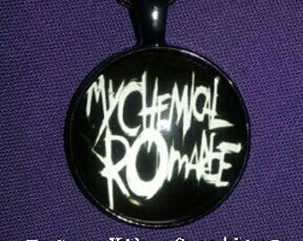 My Chemical Romance, Rock'N'Roll Inspired, Cabochon Charm Necklace