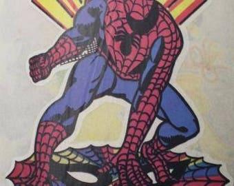Spiderman Transfer Vintage