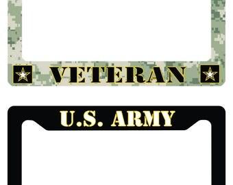 U.S Army License Plate Frames