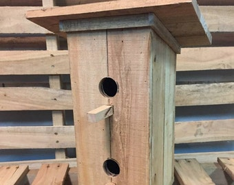 Wooden Doubledecker Birdhouse