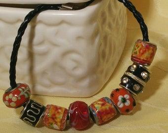 Sunset - bracelet Pandora style