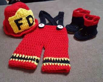 Fireman Infant Turnout Gear