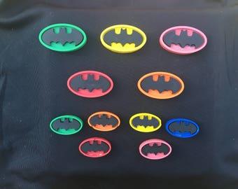 Batman (specialty) Crayon Party Favors (10 bags)- Batman birthday- Superhero birthday