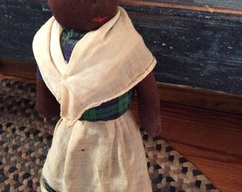 Vintage Black Broom doll