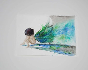 Pretty Wings (print)