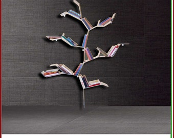TREE LIBRARY bookshelves Bookcases Shelving Storage design tree wall book shelves bookcase